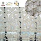Nuovo tessuto chimico del merletto del fiore 3D del reticolo per il materiale del vestito