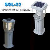 Lámpara solar caliente del jardín de la luz del camino de la venta LED hecha en China
