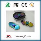 Tri-Spinner Wheel Finger Fidget Spinner à main Spinner à LED
