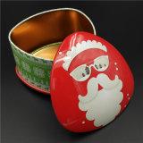 Lata de estanho do Natal da série do OEM para o alimento da embalagem (T001-V8)