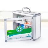 Алюминиевый шкаф скорой помощи B012 для хранения микстуры с ручкой