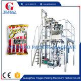 ポテトチップの軽食の豆の米の微粒の包装機械