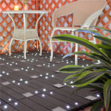 A Luz Solar exterior WPC do Intertravamento Tile Deck bricolage Azulejos do piso