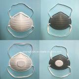 3 Masker van het Ademhalingsapparaat van het Stof van de vouw N95 het Beschikbare met klep