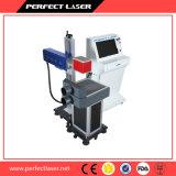 Máquina de madera de la marca del laser del grabado del cristal de botellas de los pantalones vaqueros con SGS FDA del Ce