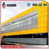 El panel 2017 de techo de aluminio blanco del PE de la decoración de la oficina de Ideabond (AE-31D)