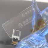 Lecteur flash USB en cristal de modèle de carte