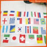 Bandierine esterne delle stamine su ordinazione della bandiera nazionale per i giochi fantastici di sport