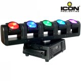 Five Head Beam Moving Head Light crie um efeito tridimensional da flor