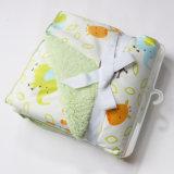 Abrigo grueso modificado para requisitos particulares el dormir del bebé del paño grueso y suave de Sherpa del visión suave
