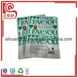 Aluminiumfolie-Fastfood- Plastikbeutel für das Schokoladen-Stück-Verpacken