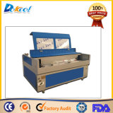 CO2 Laser-Ausschnitt-Gravierfräsmaschine für hölzernes Acryl macht Verkauf in Handarbeit