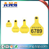UHF RFID Animal Visual Ear Tags Précision Trace Retour Information