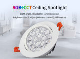 Ce. RoHS ha approvato 9W RGB+CCT LED Donwlight