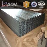 Folha de alumínio ondulada da telhadura do zinco do espaço livre principal da qualidade