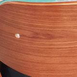 Cuir synthétique chaise de salle à manger en bois cintré Wt-2814-4