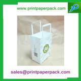 Sacos de transporte de papel Sos Kraft Takeaway Party Lunch Food Gift Paper Bag with Flat Handles