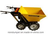 Dumper миниого транспортера затяжелителя сада кургана силы тележки навоза 4WD миниый