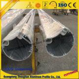Profil en aluminium de meubles pour la pipe en aluminium d'aluminium de tube