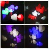 Ce RoHS keurde de Romantische Lamp van de Vakantie van de Projector van het Hart Lichte voor Decoratie goed