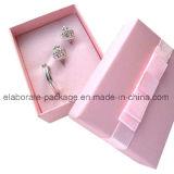 Caliente-Venta de la caja de embalaje joyería hecha a mano de la cartulina de la pequeña