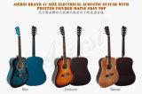 Гитара завода Гуанчжоу красочные электрические акустическая гитара оптовой (SG028AE)