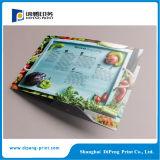カラーAdverstmentのペーパーパンフレットの印刷
