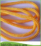 Corde bianche del sacchetto della maniglia del poliestere di alta qualità