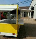 Elektrisches Dreiradnahrungsmittelauto für das Kochen der Nahrung