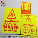Verkehrs-warnende Sicherheits-reflektierender Markierungs-Band-Aufkleber