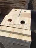 madera contrachapada comercial del orificio de la base del álamo de 18m m