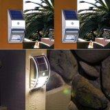 LED d'éclairage solaire de jardin du Corridor de paroi de la lampe témoin