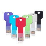 Da movimentação chave da pena da forma do metal movimentação feita sob encomenda do flash do USB