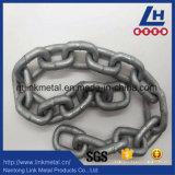Catena a maglia placcata zinco G80 del TUFFO caldo