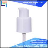 24 mm de la bomba de crema blanca de plástico con tapa