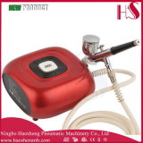 HS08-6AC-Sk compresor del aerógrafo Kit Portable compone el / Decoración de Pasteles / Nail tatuajes