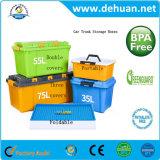 Caixa de armazenamento de tronco de carro com diferentes desenhos e capacidade