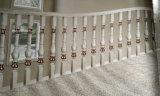 Escaliers en bois de cuivre de balustrade avec la surface différente terminée (203)