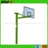 Equipo de deportes al aire libre del soporte cuadrado del baloncesto del tubo