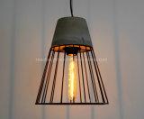 Weinlese-antike industrielle Kleber-Rahmen-hängende Lampen-konkrete Beleuchtung-Vorrichtungen
