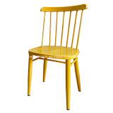 椅子(JY-R15)を食事する金属のWindsorの現代レストラン