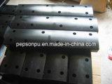 Peças feitas sob encomenda do poliuretano para a máquina