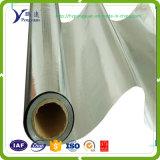 Matériau d'isolation r3fléchissant enduit tissé de Mylar de papier d'aluminium de tissu hautement