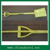 Macht van het werktuig bedekte de Gelaste Schop van het Handvat van het Staal met een laag