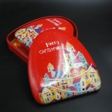 Metal Tin Box: Christmas Printing Chocolate & Candy Container (T003-V6)