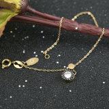 Armband van de Charme van de Diamant van de Vrouwen van de Juwelen van de manier de Goud Geplateerde