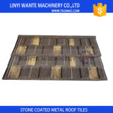 Buntes Stein-überzogenes Aluminiumzink-Stahldach schichtet Fliesen
