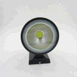 IP65 Resistente al agua el cilindro de mazorca de 5W Aplique de pared LED Lámpara de fijación de aluminio de altas prestaciones de un lado al aire libre