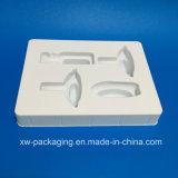 Поднос низкой цены белый пластичный для упаковывать волдыря