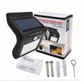 16LED IP65 Solarwand-Licht des menschlicher Körper-Fühler-helles Steuerled für im Freiengarten